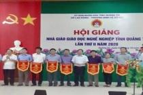 Hội giảng Nhà giáo Giáo dục nghề nghiệp tỉnh Quảng Trị lần thứ II - Năm 2020