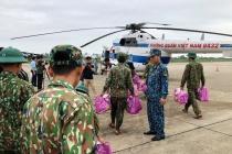 Thủy điện Rào Trăng (Thừa Thiên Huế): Huy động trực thăng và chó nghiệp vụ tìm kiếm người mất tích