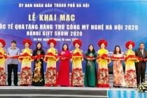 400 gian hàng tham gia Hội chợ quốc tế Quà tặng hàng thủ công mỹ nghệ Hà Nội năm 2020