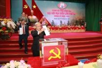 Giới thiệu nhân sự và tiến hành bầu cử Ban Chấp hành Đảng bộ tỉnh Đồng Nai nhiệm kỳ 2020-2025