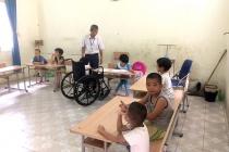 Trần Ngọc Anh - Người thầy đam mê với việc dạy  văn hóa cho trẻ em khuyết tật