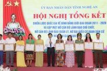 Nghệ An: Tăng cường sự tiếp cận của phụ nữ đối với các nguồn lực kinh tế, lao động