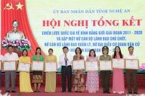 Nghệ An: Nhiều chỉ tiêu Chiến lược quốc gia về bình đẳng giới đạt và vượt kế hoạch