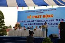 Các doanh nghiệp tỉnh Bình Định tiếp tục đảm bảo môi trường làm việc an toàn sau Lễ phát động Tháng hành động về An toàn, vệ sinh lao động 2020