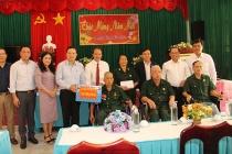 Thứ trưởng Lê Văn Thanh thăm, chúc Tết tại Trung tâm Điều dưỡng Thương binh nặng và người có công Long Đất