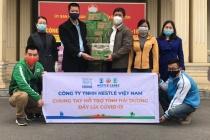 Nestlé Việt Nam sát cánh cùng tuyến đầu phòng chống đại dịch Covid 19