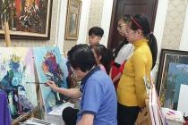 """Họa sĩ Thế Hùng: """"Học vẽ - Đam mê quan trọng hơn năng khiếu'"""