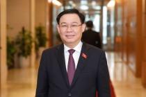 Bí thư Thành ủy Hà Nội Vương Đình Huệ được bầu làm Chủ tịch Quốc Hội