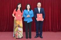 Thứ trưởng Nguyễn Thị Hà trao Quyết định bổ nhiệm Tổng Biên tập Báo Lao động và Xã hội