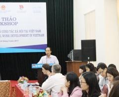 Hoàn thiện khung pháp lý phát triển nghề Công tác xã hội