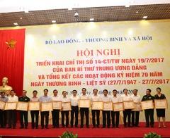 Tổng kết các hoạt động kỷ niệm 70 năm Ngày Thương binh - Liệt sỹ