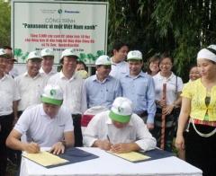 """Panasonic viết tiếp hành trình """"xanh"""" tại Hòa Bình, Quảng Nam và Quảng Ngãi"""