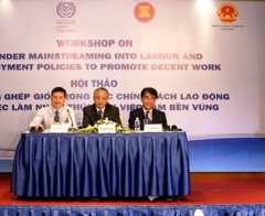 Lồng ghép giới trong các chính sách lao động và việc làm nhằm thúc đẩy việc làm bền vững