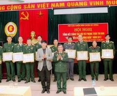 """Hội CCB quận Hà Đông tổng kết công tác Hội và phong trào """"Cựu chiến binh gương mẫu"""" năm 2017"""