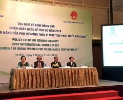 Tăng quyền năng cho phụ nữ nông thôn vì mục tiêu phát triển bền vững của Việt Nam