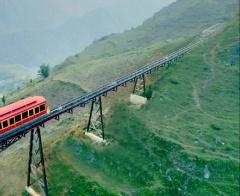 Sa Pa có tuyến tàu hỏa leo núi hiện đại bậc nhất Việt Nam