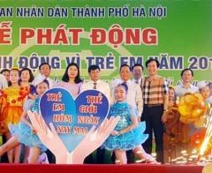 Hà Nội phát động Tháng hành động vì trẻ em năm 2018