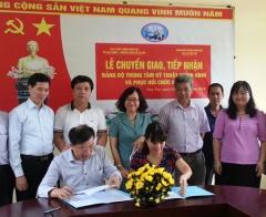 Đảng bộ Bộ Lao động - Thương binh và Xã hội tiếp nhận tổ chức cơ sở Đảng