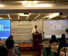 Tập huấn cán bộ giáo dục nghề nghiệp về xanh hóa đào tạo nghề tại TP.HCM