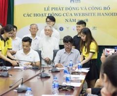 Phát động và công bố các hoạt động của website hanoidep.vn