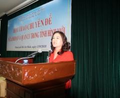 Phát huy vai trò lãnh đạo của phụ nữ trong thời đại mới