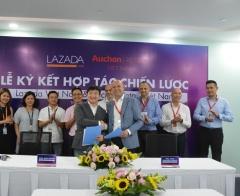 Auchan Retail Việt Nam và Lazada Việt Nam ký kết hợp tác chiến lược và dài hạn tại Việt Nam