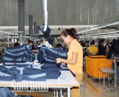 Huyện Nghĩa Hưng nỗ lực tạo việc làm cho người lao động