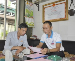 Kết nối, tổ chức cho người nghiện, các đối tượng yếu thế học nghề, vay vốn, tạo việc làm - Mô hình hiệu quả của các Đội tình nguyện