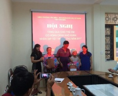 Phường Văn Miếu - tỉnh Nam Định: Chú trọng công tác bảo trợ xã hội