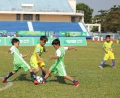 Lần đầu tiên Giải bóng đá, bóng rổ - Cúp Nestlé MILO đến với học sinh Vĩnh Long