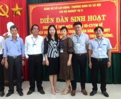 Đảng ủy Sở Lao động - Thương binh và Xã hội Quảng Trị triển khai thực hiện Chỉ thị số 05-CT/TW chuyên đề năm 2020