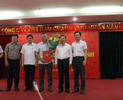 Công bố Quyết định bổ nhiệm Giám đốc Trung tâm Huấn luyện An toàn - Vệ sinh lao động