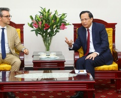 Minister Dao Ngoc Dung receives Ambassador - Head of EU Delegation