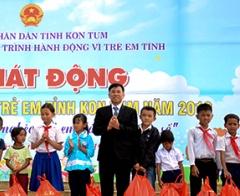 KonTum: Phòng ngừa và giảm thiểu lao động trẻ em