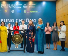 """The Ho Chi Minh Stock Exchange """"Ring the Bell for Gender Equality"""""""