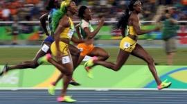 Chung kết chạy 100m nữ tại Olympic Rio 2016