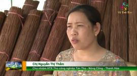 Đào tạo nghề cho người khuyết tật tại xã Tân Thọ, Thanh Hóa