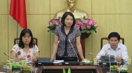 Lãnh đạo Cục người có công tiếp Đoàn đại biểu người có công tỉnh Cà Mau
