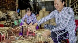 Nghề đan lục bình: Góp phần giải quyết việc làm, tăng thu nhập cho lao động nông thôn