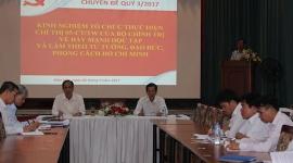 Học tập và làm theo tư tưởng, đạo đức, phong cách Hồ Chí Minh ở Đảng ủy Khối doanh nghiệp Đồng Nai