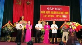 Lãnh đạo thành phố Sông Công gặp mặt nhân kỷ niệm ngày Doanh nhân Việt Nam 13/10/2017