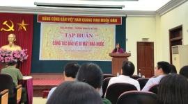 Bộ Lao động - Thương binh và Xã hội tổ chức tập huấn công tác bảo vệ bí mật nhà nước