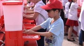 Mít tinh hưởng ứng Ngày Thế giới rửa tay với xà phòng