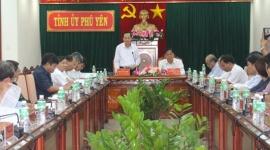 Đoàn công tác Bộ Lao động - Thương binh và Xã hội làm việc tại tỉnh Phú Yên