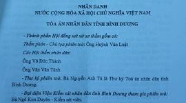 Thanh tra Bộ LĐTB&XH thông tin về kết quả phiên tòa giữa ông Đỗ Viết Vinh với Sở LĐTB&XH Bình Dương