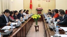 Bộ trưởng Đào Ngọc Dung tiếp lãnh đạo Ngân hàng Thế giới tại Việt Nam