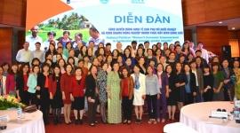 Nâng cao quyền năng kinh tế của phụ nữ trong cuộc cách mạng 4.0
