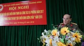 Hội Cựu chiến binh phường Thượng Đình gặp mặt hội viên hội Cựu chiến binh và phát động phong trào thi đua năm 2018