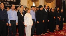 Đoàn lãnh đạo Bộ Lao động – Thương binh và Xã hội đến viếng Nguyên Thủ tướng Phan Văn Khải