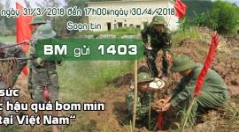 Chung tay nhắn tin góp sức hỗ trợ khắc phục hậu quả bom mìn sau chiến tranh tại Việt Nam